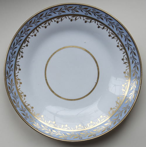 Pattern 2/261 large saucer dish front