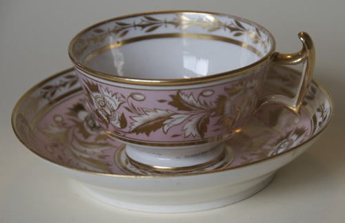 Pattern 2/146 tea cup and saucer