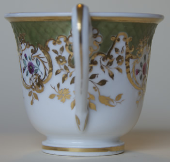 Pattern 2/829 coffee cup handle side
