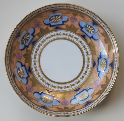 Pattern 487 saucer front