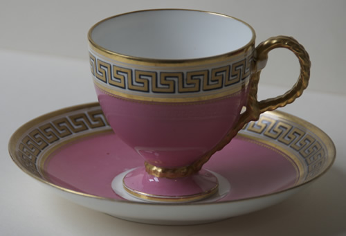 Pattern C/5872 coffee cup and saucer