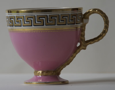 Pattern C/5872 coffee cup side