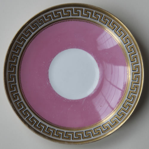 Pattern C/5872 saucer front