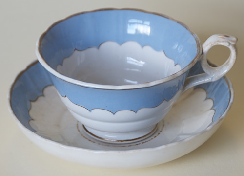 Pattern 484 tea cup and saucer