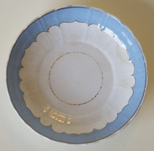 Pattern 484 saucer front