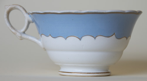 Pattern 484 tea cup right side