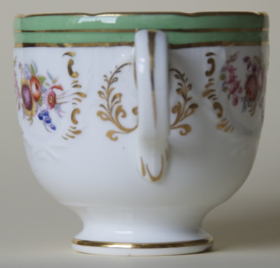 Pattern 5/1466 coffee cup handle side