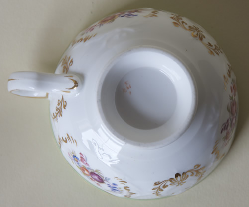 Pattern 5/1466 tea cup base