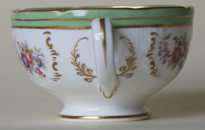 Pattern 5/1466 tea cup handle side