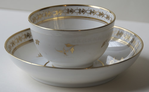 Pattern 2/66 cup and saucer