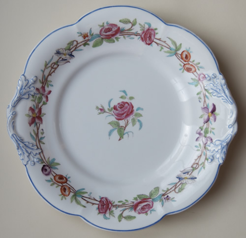 Pattern 5/242 bread and butter plate front