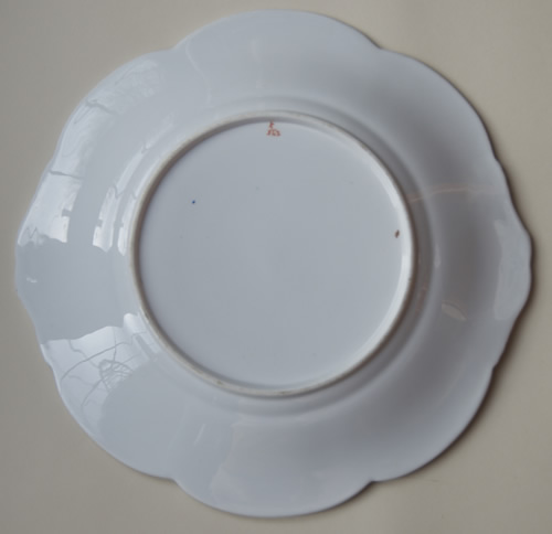 Pattern 5/242 bread and butter plate back