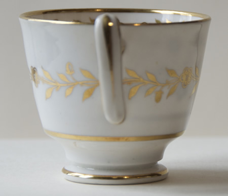 Pattern 2/211 coffee cup handle