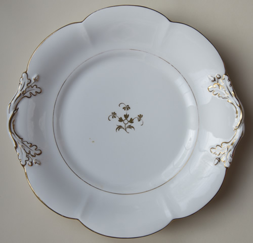 Pattern 5/1661 bread & butter plate front