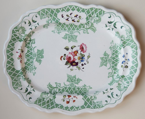 Pattern 2299 meat dish front