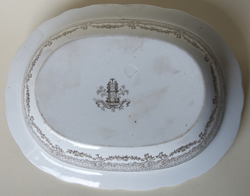 Humphrey's Clock pie dish base