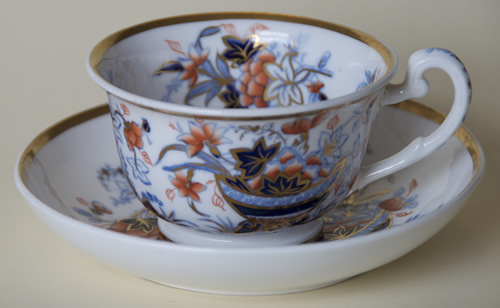 Pattern 2/839 tea cup and saucer
