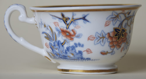 Pattern 2/839 tea cup right side