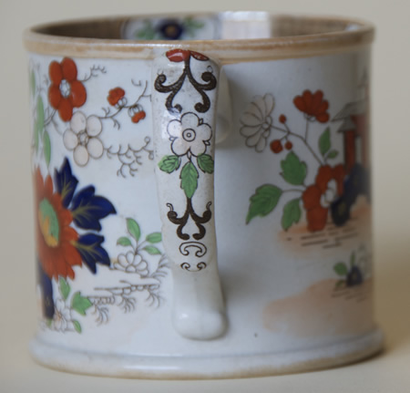 Pattern 223 mug handle side