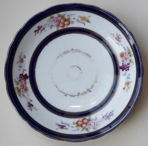 Pattern 2/6356 breakfast saucer front