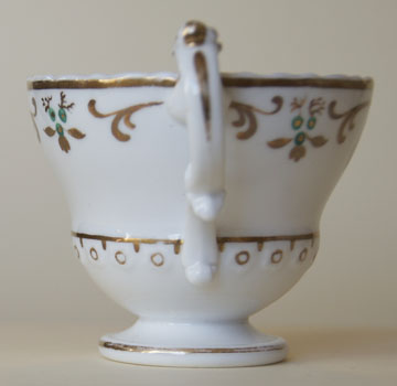 Pattern 2/3298 coffee cup handle side