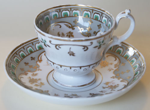 Pattern 2/3298 coffee cup and saucer