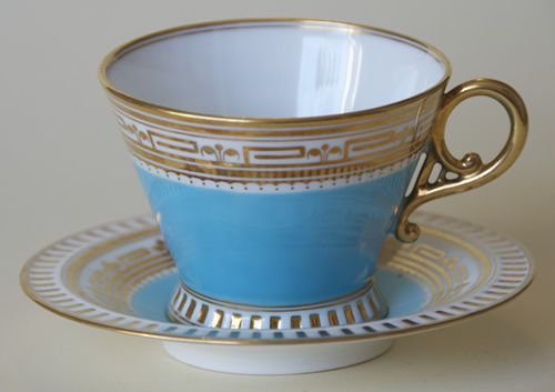 Pattern K/255 tea cup and saucer
