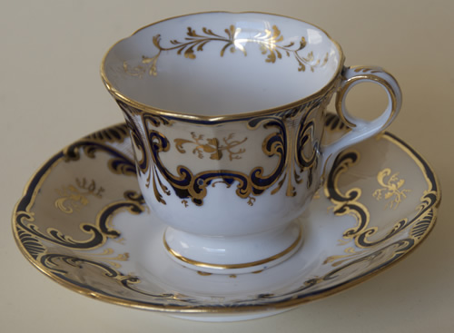 Pattern 5/773 cup and saucer