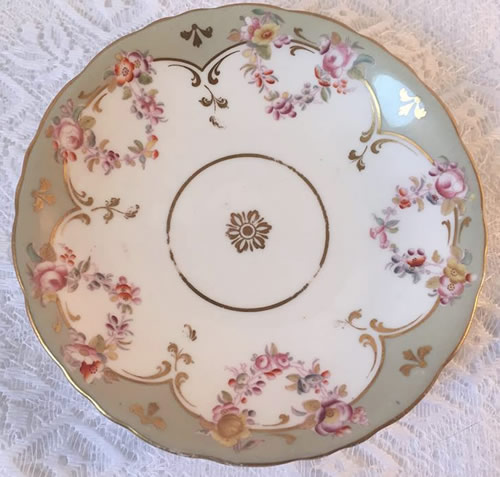Pattern 2/6415 saucer front