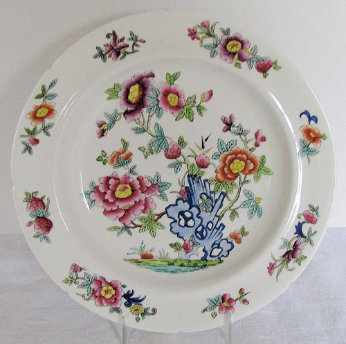 Pattern 862 soup plate front