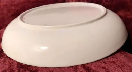 Pattern 414 saucer dish side