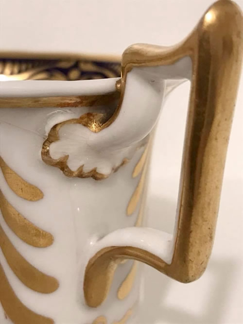 Pattern 2/1650 coffee cup handle