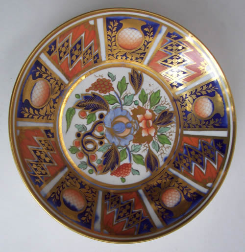Pattern 452 saucer front