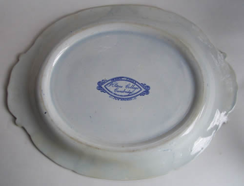 St Peters College soup tureen stand back