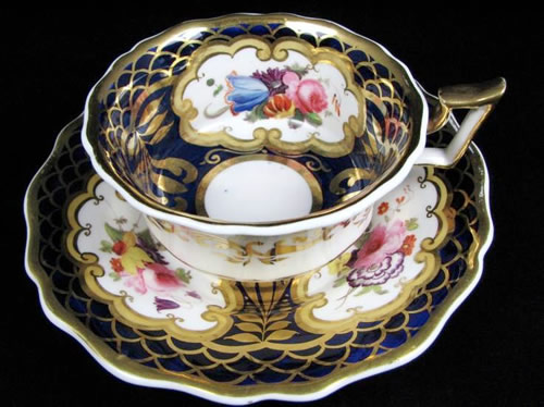 Pattern 2/1296 tea cup and saucer