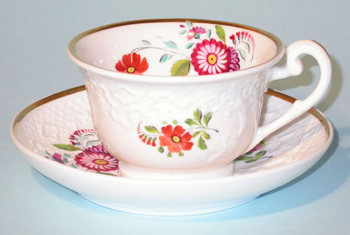 Pattern 2/854 tea cup and saucer