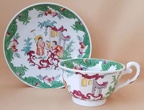Pattern 2/928 breakfast cup and saucer