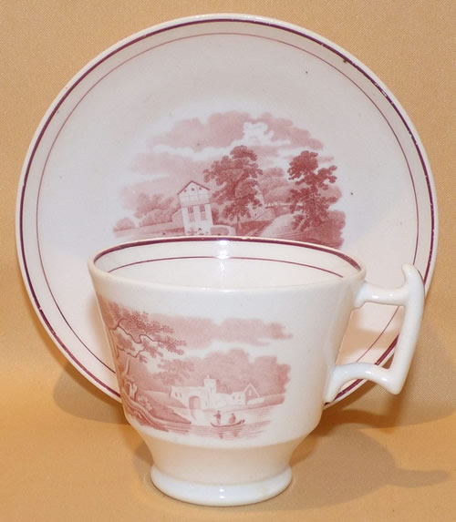 Pattern 2/1489 coffee cup and saucer