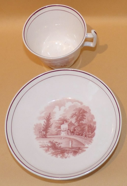 Pattern 2/1489 tea cup and saucer
