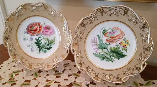 Pattern 6/4637 pair of dessert plates