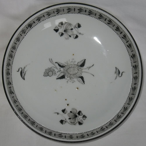 Pattern 455 saucer front