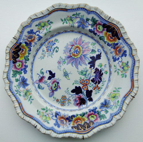 Pattern 52 dinner plate front