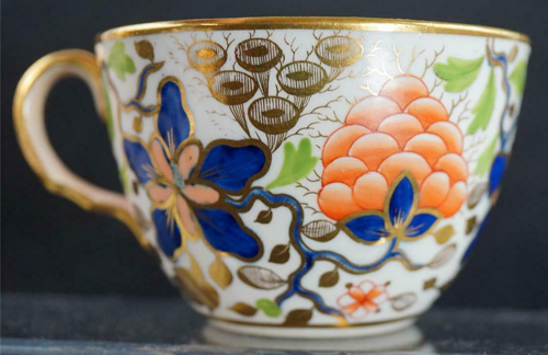 Pattern 435 tea cup right side