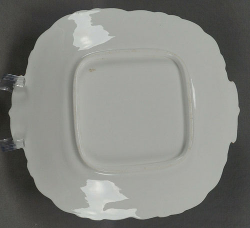 Pattern 4/89 bread and butter plate back