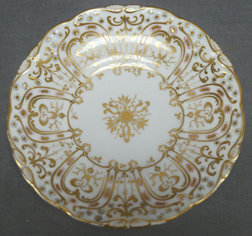 Pattern 4/89 saucer front
