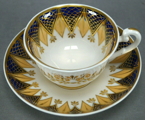 Pattern 2/925 tea cup and saucer