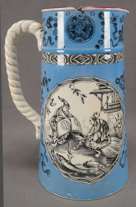 Pattern i/267 covered jug right side