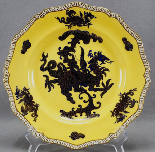 Pattern C/1500 dinner plate front