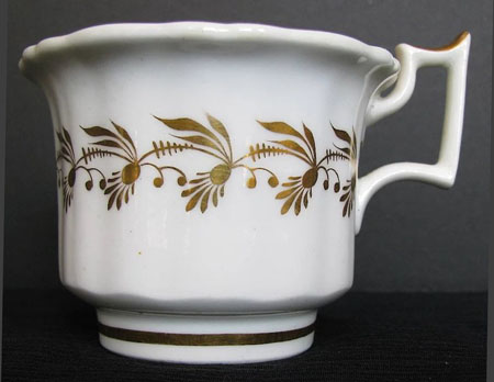 Pattern 1394 coffee cup side