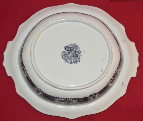 Oriental covered vegetable dish base